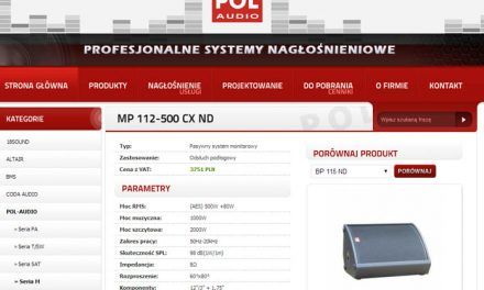POL-AUDIO – MP 112 CX ND