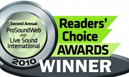 Nagrody ProSoundWeb i LiveSound International 2010
