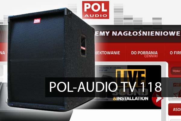POL-AUDIO – TV 118
