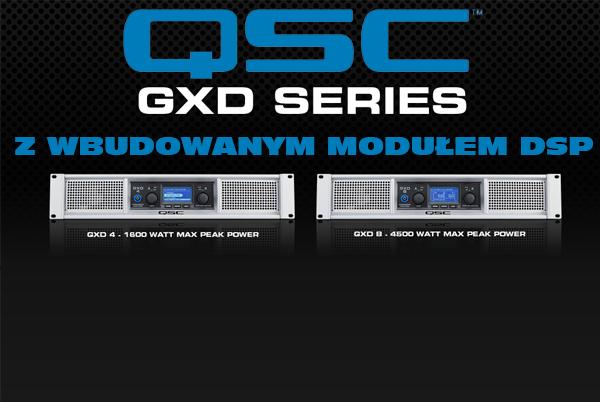 Wzmacniacze QSC GXD
