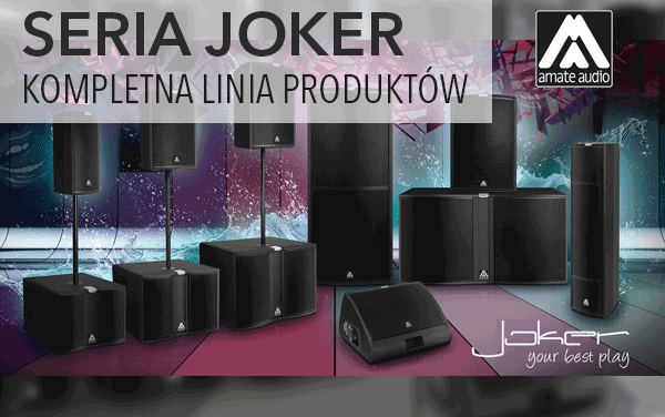 Amate Audio – seria Joker