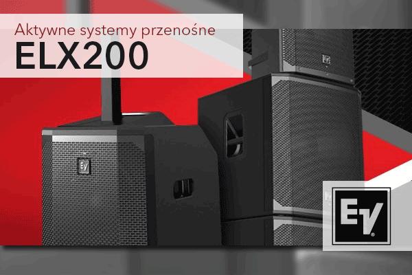 EV ELX200 – uniwersalne, aktywne, przenośne