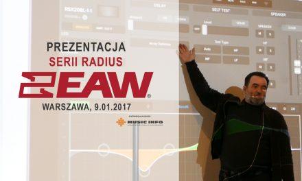 Prezentacja systemów EAW Radius [9.01.2017]
