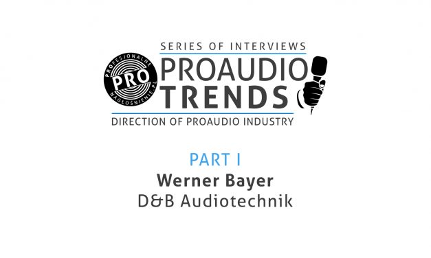 PROAUDIO Trends cz.1 – Werner Bayer