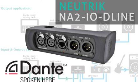 NA2-IO-DLINE – interfejs Dante od Neutrika