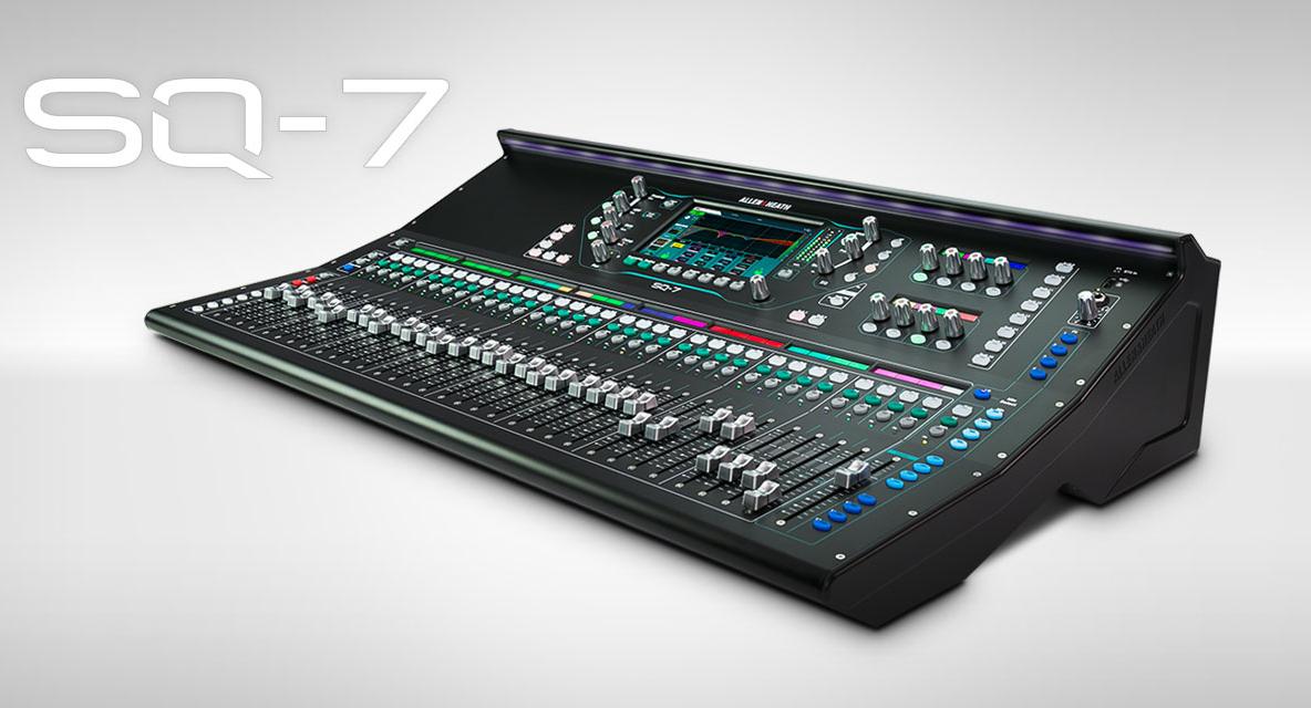 Nowy model rodziny Allen-Heath – SQ7