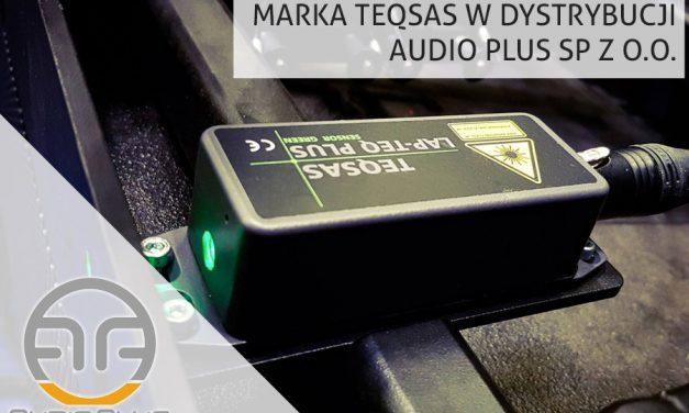 Audio Plus dystrybutorem urządzeń Teqsas