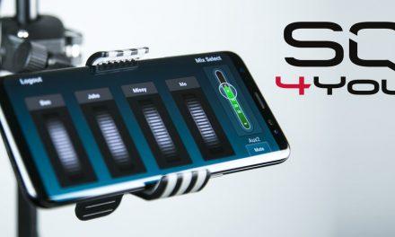Aplikacja SQ4You do mikserów z serii SQ