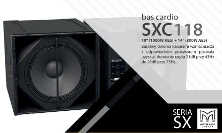 Bas Cardio on Martin Audio [SXC118]